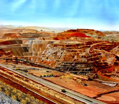 معادن آهن سیچن-آفریقای جنوبی